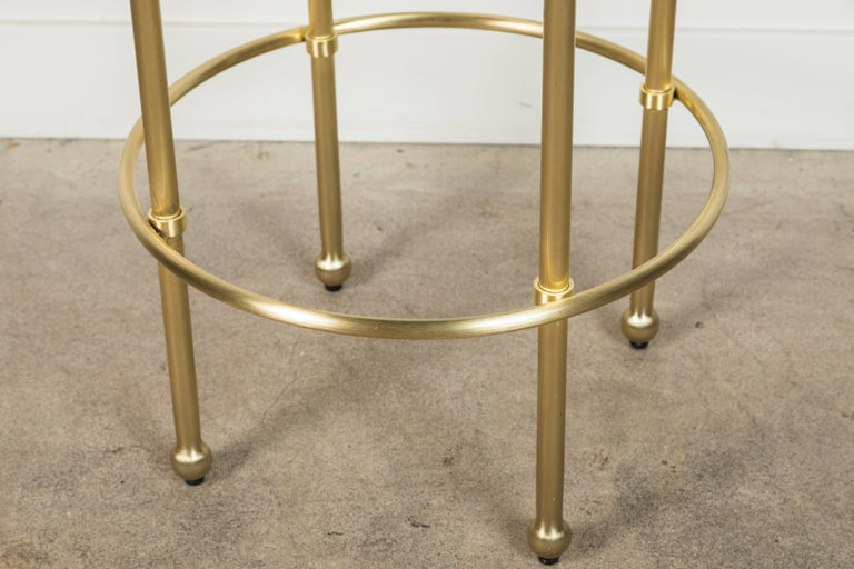 Contemporary Orsini Counterstool by Lawson-Fenning For Sale
