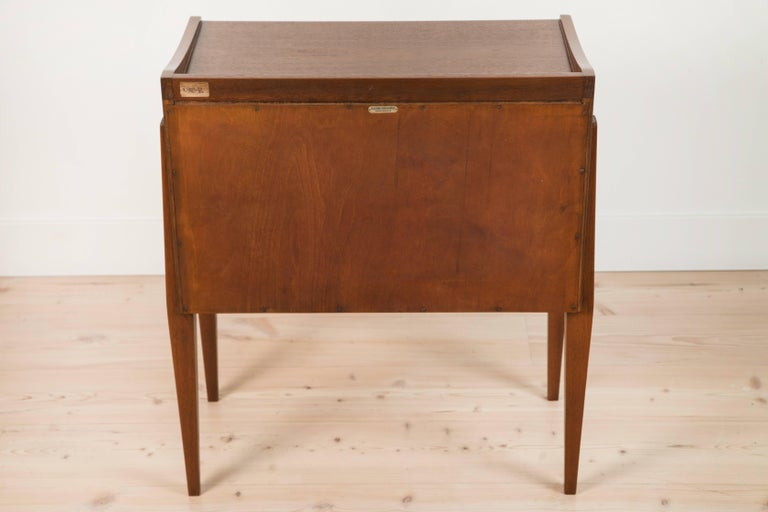 Scandinavian Pair of Teak Nightstands by Frode Holm for Illums Bulgihus For Sale