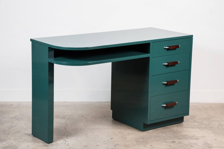 Lacquered Desk by Eliel Saarinen for Johnson Furniture Co 2