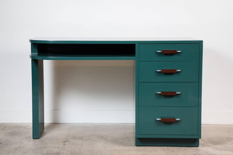 Lacquered Desk by Eliel Saarinen for Johnson Furniture Co 3