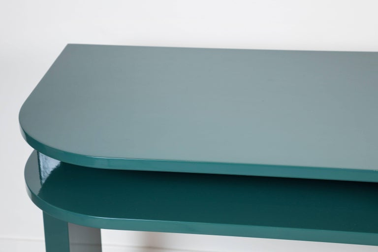 Lacquered Desk by Eliel Saarinen for Johnson Furniture Co 4