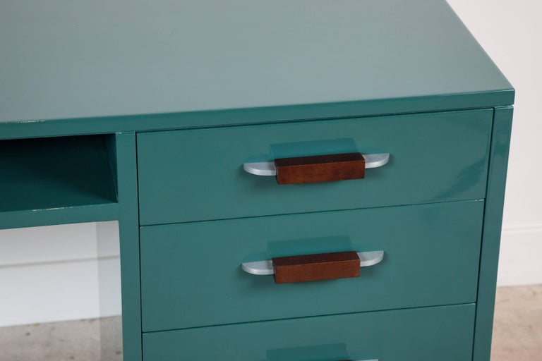 Lacquered Desk by Eliel Saarinen for Johnson Furniture Co 5