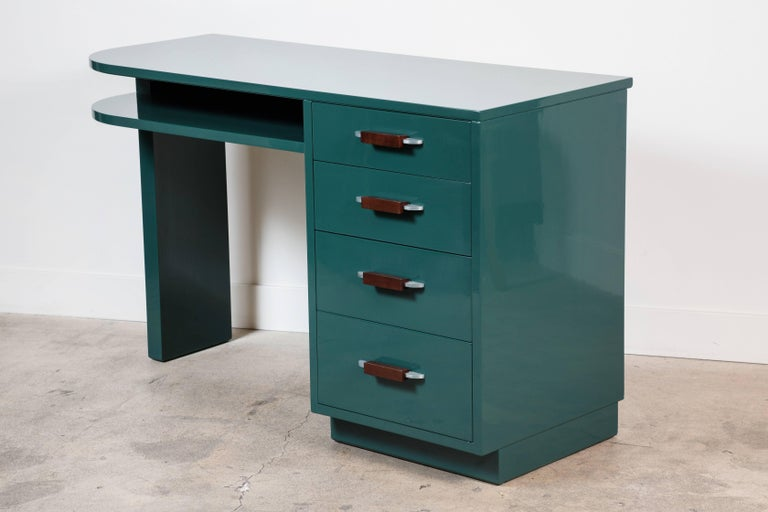 Lacquered Desk by Eliel Saarinen for Johnson Furniture Co 7