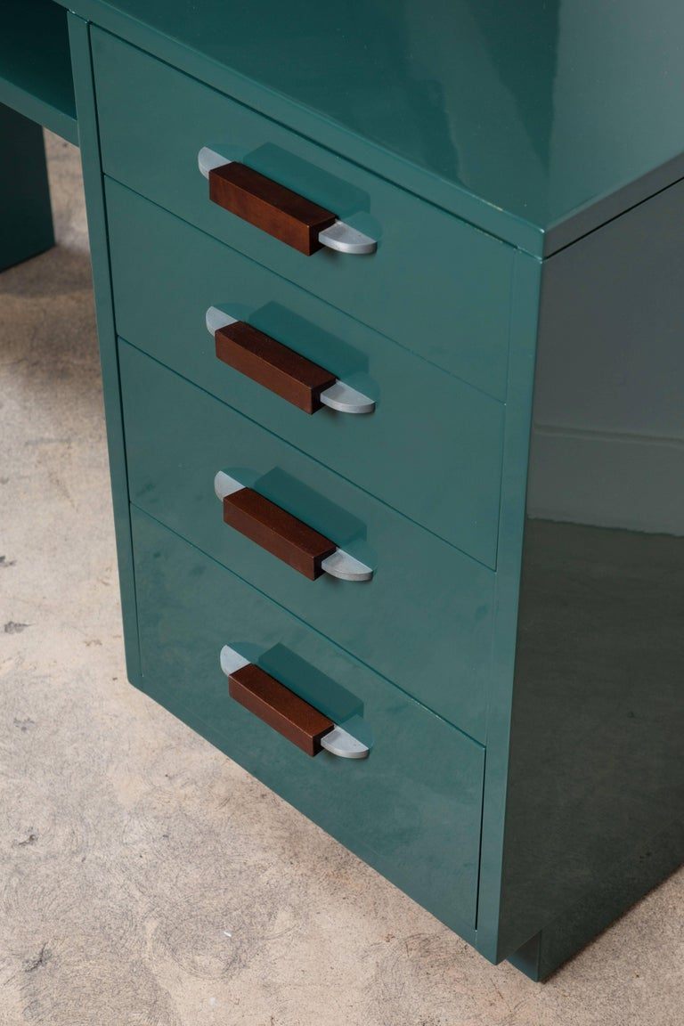 Lacquered Desk by Eliel Saarinen for Johnson Furniture Co 8
