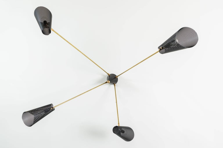 Mid-Century Modern Maximo Chandelier by Lawson-Fenning For Sale