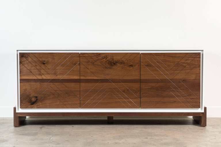 Platform cabinet by Lawson-Fenning  Available to order in various finishes with a 10-12 week lead time.