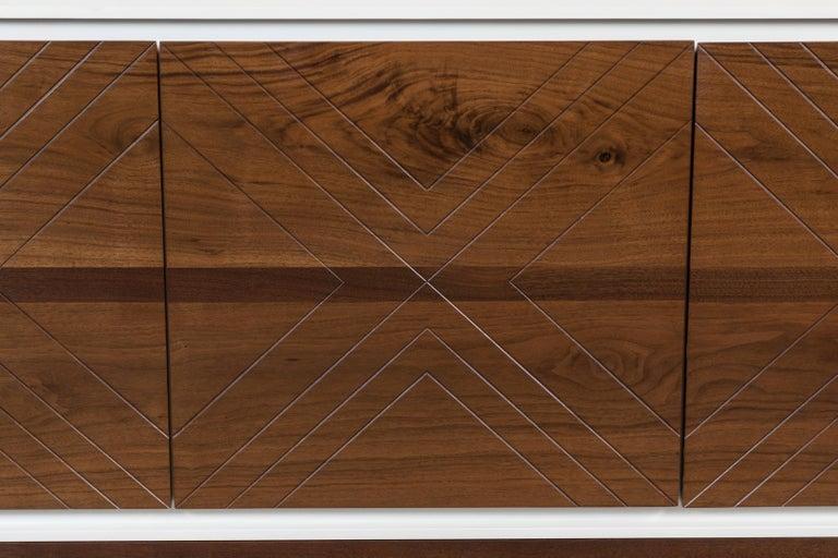 Mid-Century Modern Platform Cabinet by Lawson-Fenning For Sale