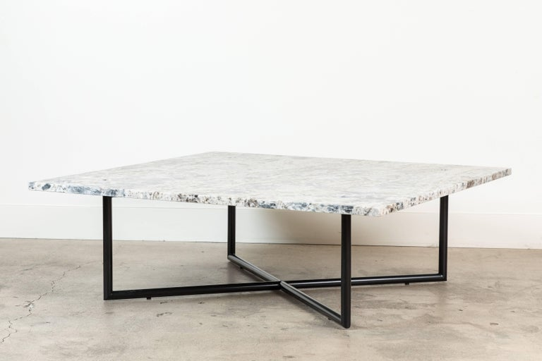 Contemporary 1.2.3. Coffee Table by Ten10 for Lawson-Fenning For Sale