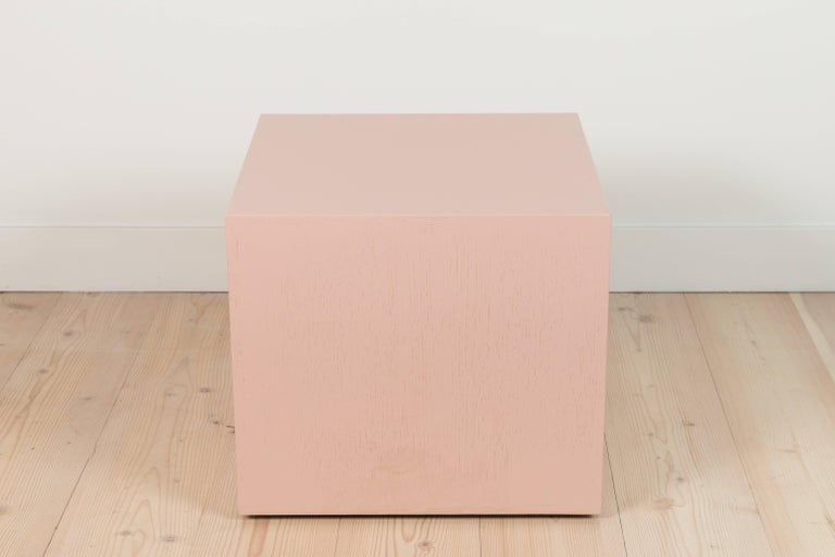 Pair of Cube Side Tables by Lawson-Fenning 4