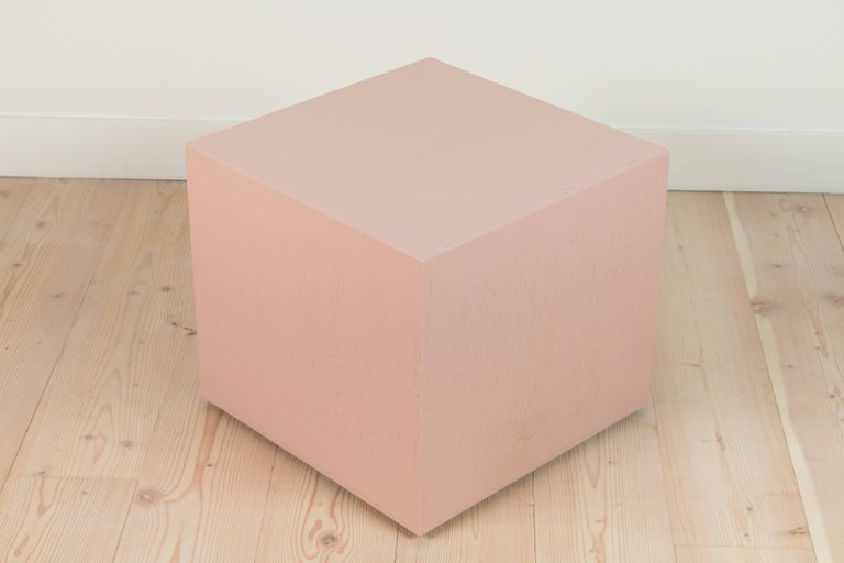 Pair of Cube Side Tables by Lawson-Fenning In Excellent Condition For Sale In Los Angeles, CA