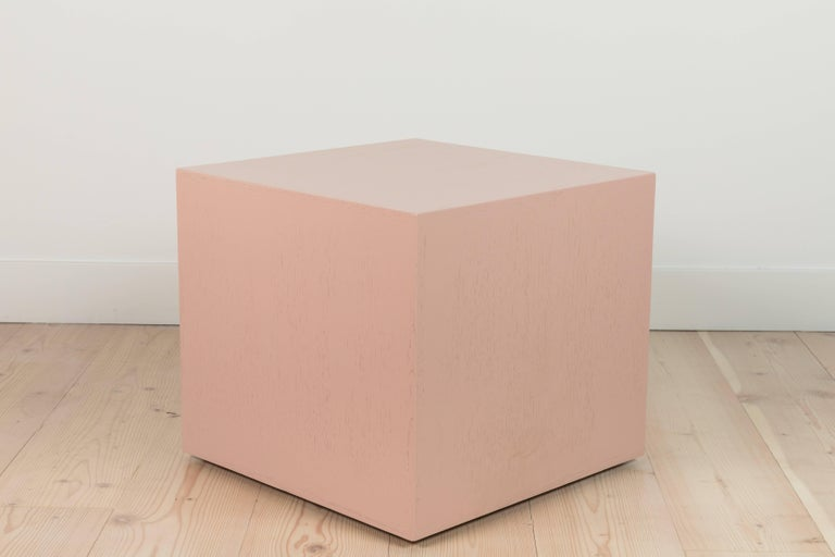 Pair of Cube Side Tables by Lawson-Fenning 6