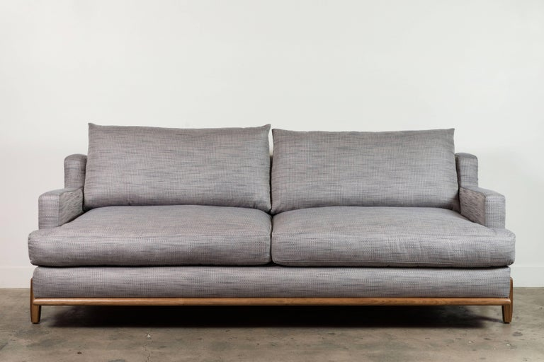 George sofa by Lawson-Fenning for the BP for LF collection designed by Brian Paquette  Available to order in Customer's Own Materials with a 6-8 week lead time  As shown: $5,150 To order: $3,650 + COM.