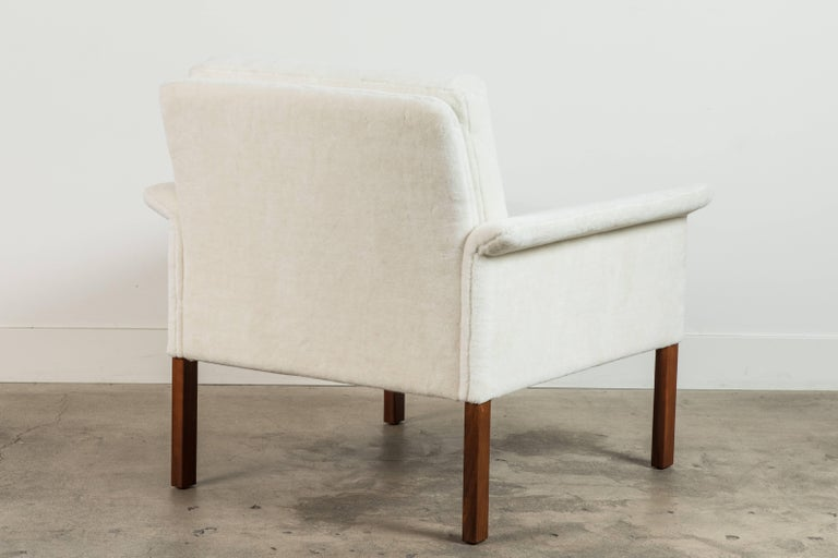 Pair of Alpaca Danish Armchairs by Hans Olsen for CS Mobler For Sale 3
