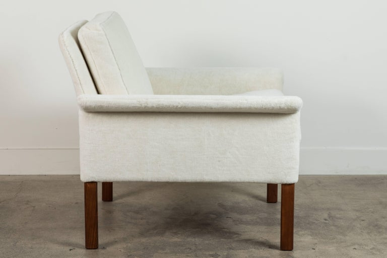 Pair of Alpaca Danish Armchairs by Hans Olsen for CS Mobler For Sale 1