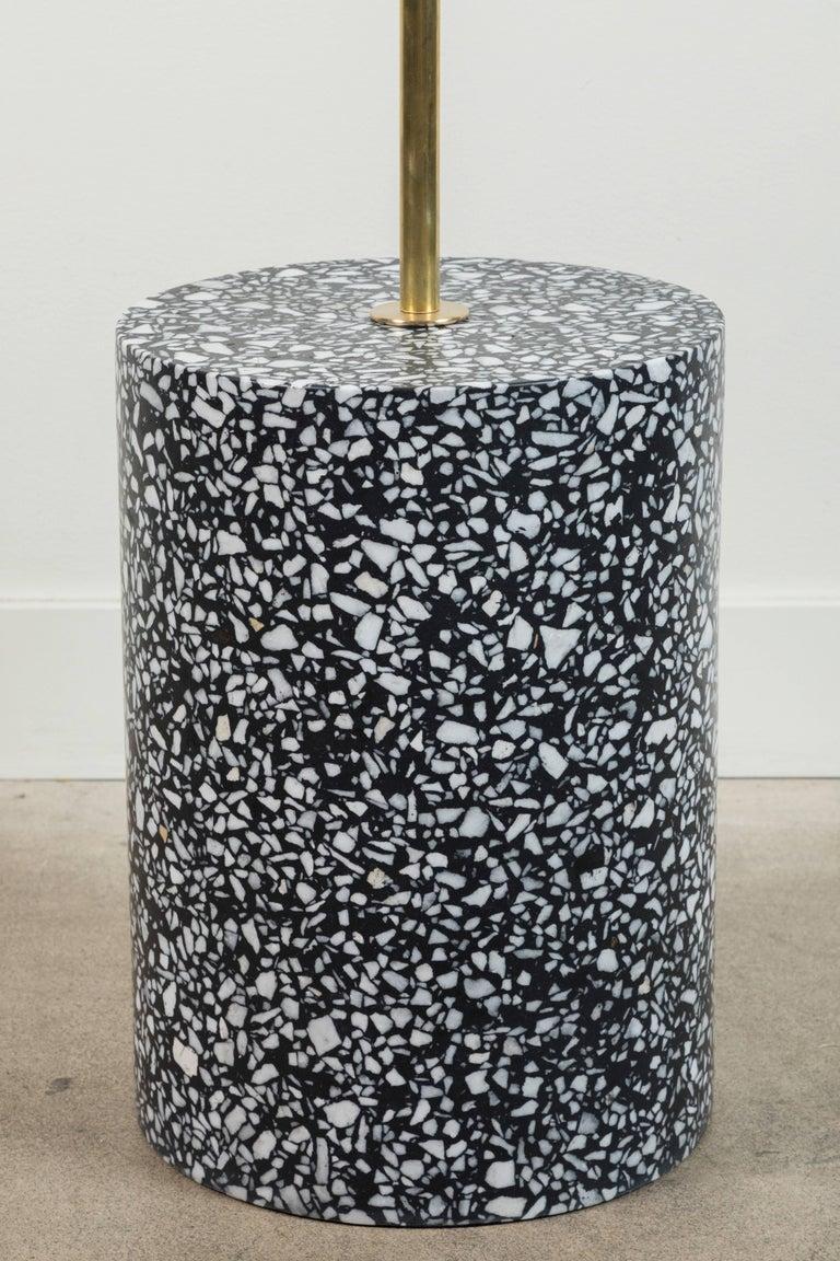 Mid-Century Modern Moon Pole Floor Lamp by Carly Jo Morgan For Sale
