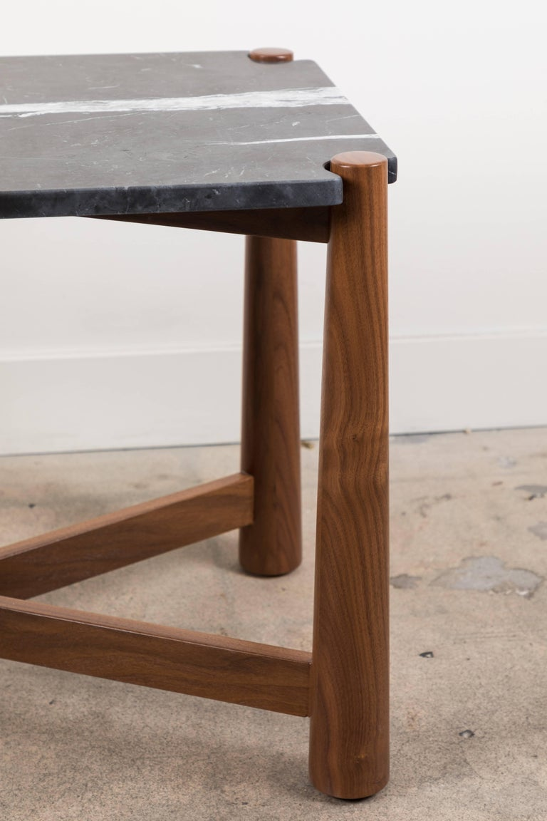 Bronson side table by Lawson-Fenning.