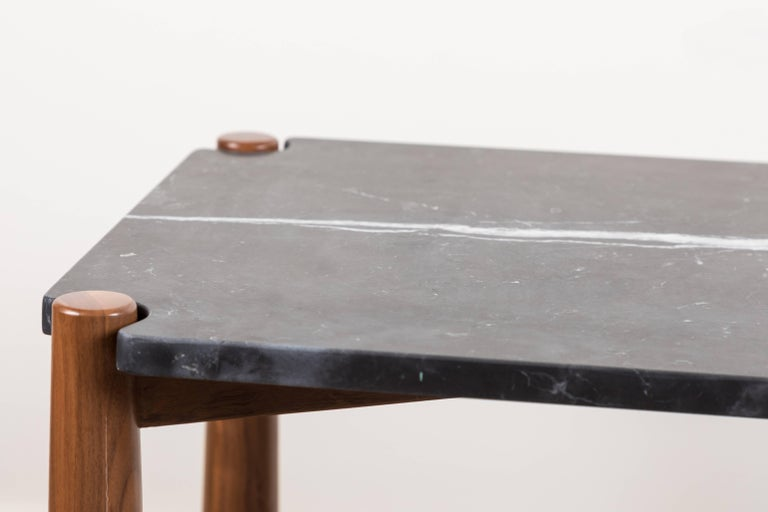 Mid-Century Modern Bronson Side Table by Lawson-Fenning For Sale