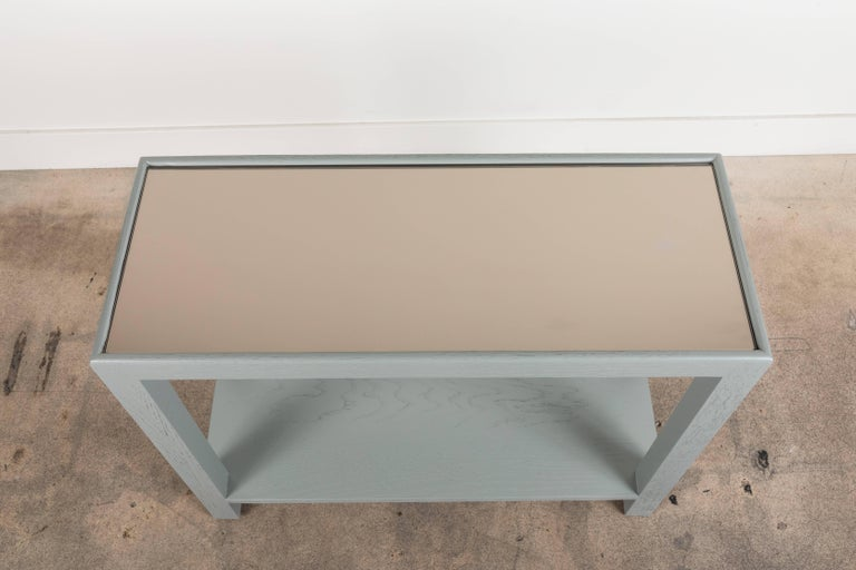Rectangular Narrow Side Table by Lawson-Fenning In Excellent Condition For Sale In Los Angeles, CA