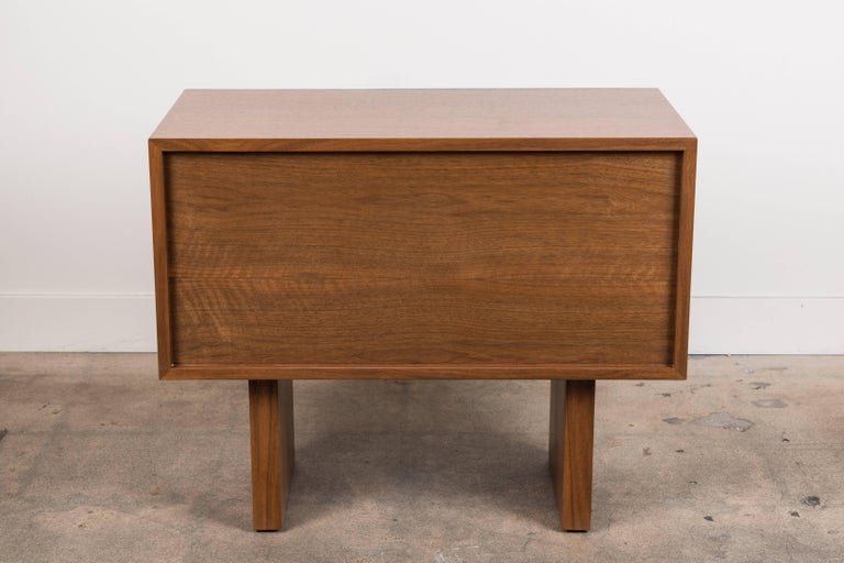 Walnut Inverness Nightstand by Lawson-Fenning For Sale