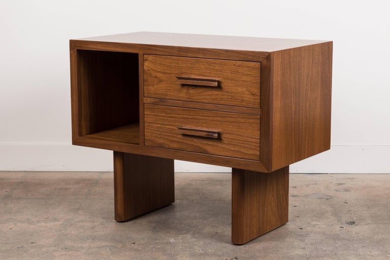 Contemporary Inverness Nightstand by Lawson-Fenning For Sale