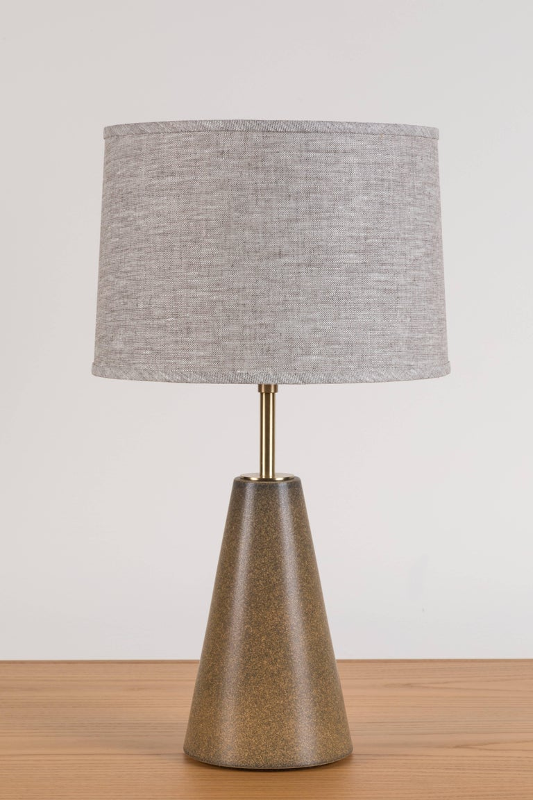 Pair of Geo lamps by Stone and Sawyer.