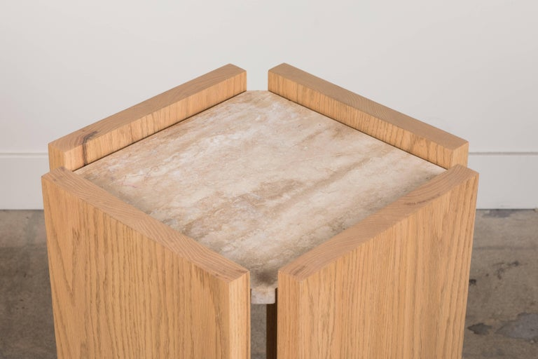 Contemporary Eppes Side Table by Brian Paquette for Lawson-Fenning For Sale