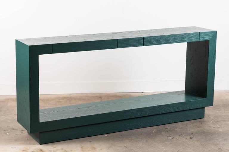 Contemporary Palisades Console by Lawson-Fenning For Sale
