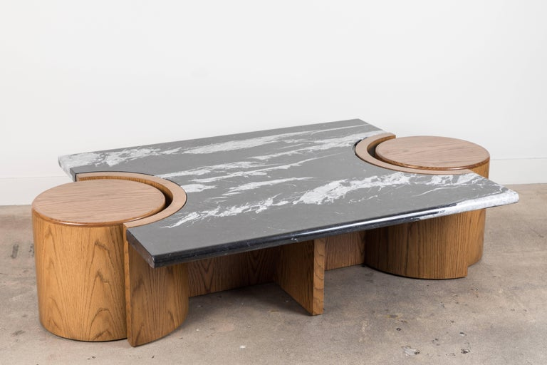 Marble Prospect Coffee Table by Lawson-Fenning For Sale
