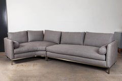 Curved Back Sectional by Lawson-Fenning