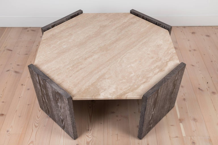 American Mercer Coffee Table by BP for LF For Sale