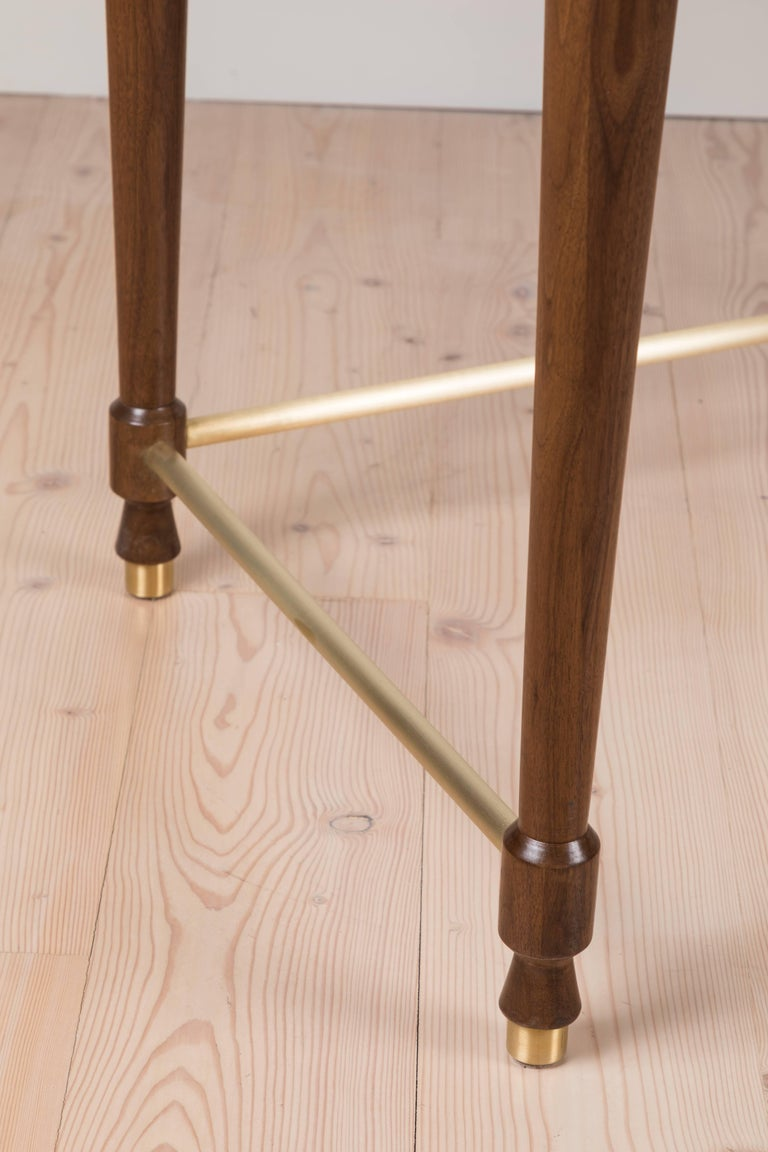 Brass Niguel Desk by Lawson-Fenning For Sale