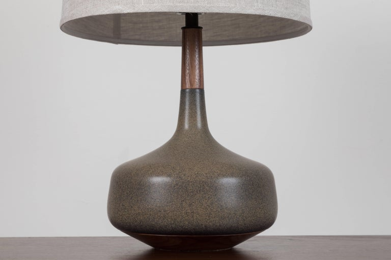 American Pair of Hilo Lamps by Stone and Sawyer for Lawson-Fenning For Sale
