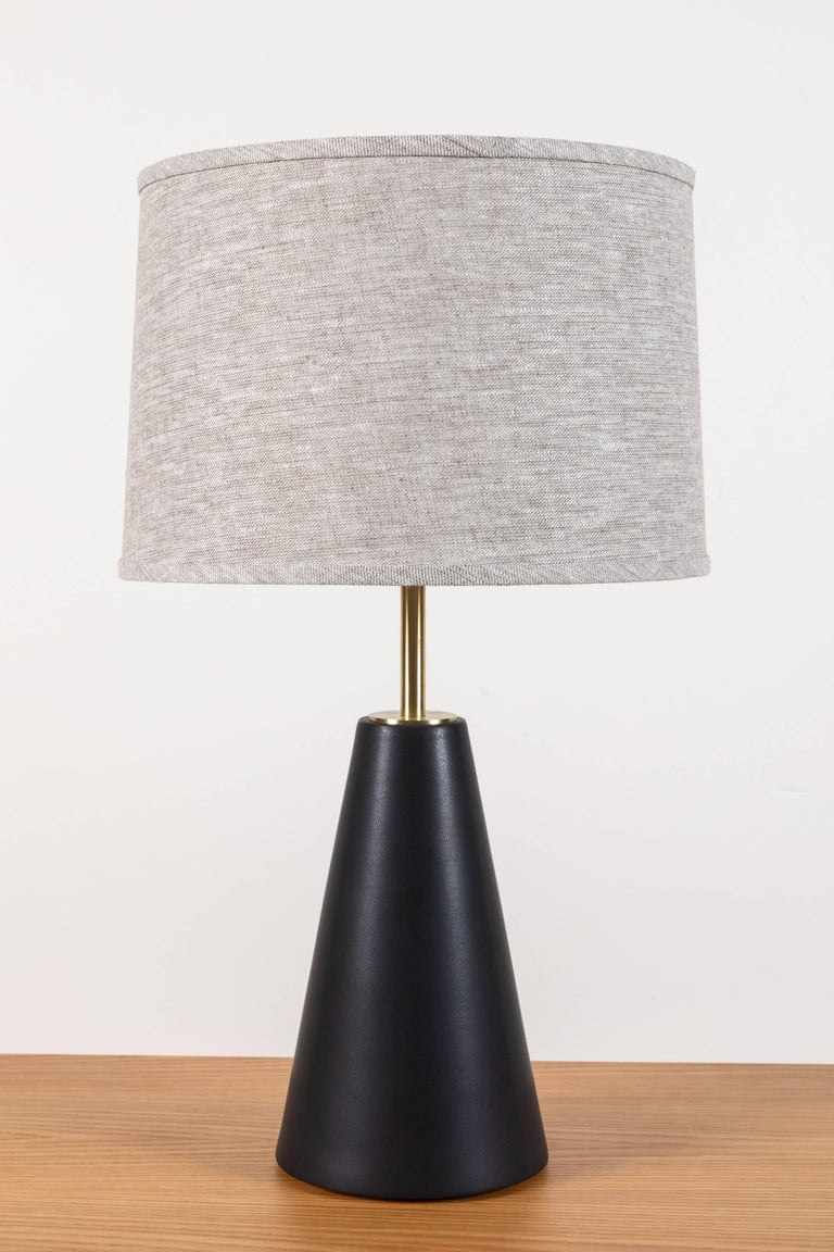 Pair of Gio lamps by Stone and Sawyer.