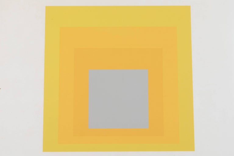 1 of 4 Folio prints from Formulation Articulation by Josef Albers.
