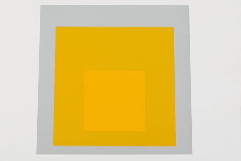 American 1 of 4 Folio Prints from Formulation Articulation by Josef Albers For Sale