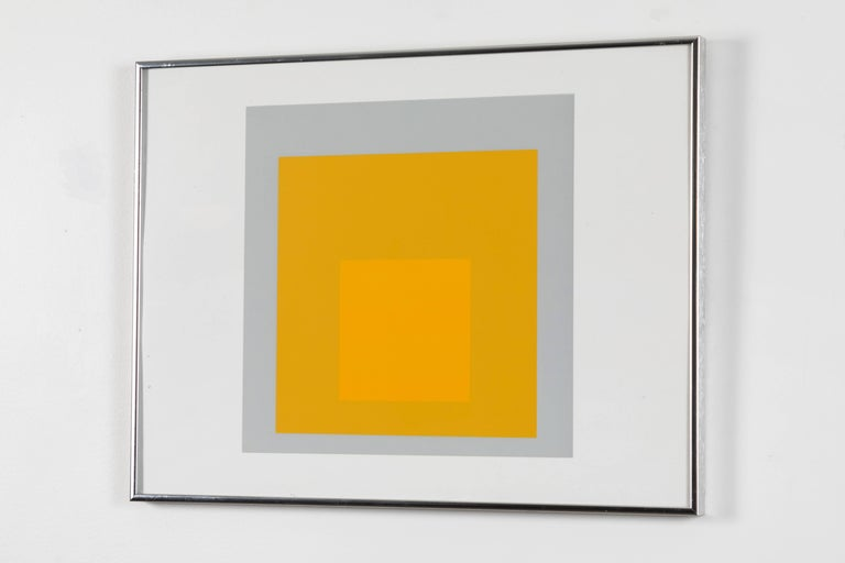 1 of 4 Folio Prints from Formulation Articulation by Josef Albers In Excellent Condition For Sale In Los Angeles, CA