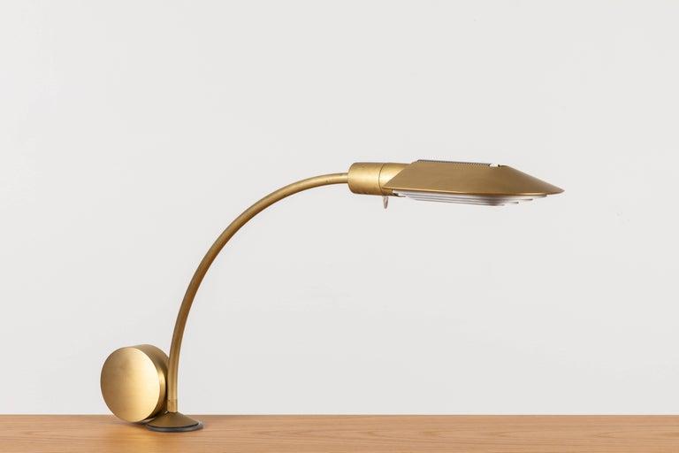 Mid-20th Century Desk Lamp Model 5D ST by Cedric Hartman For Sale