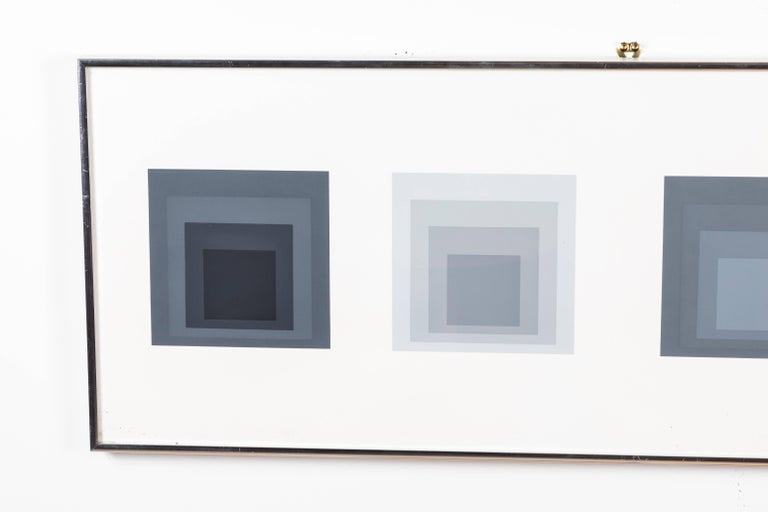 Mid-Century Modern Silkscreen Print by Josef Albers For Sale