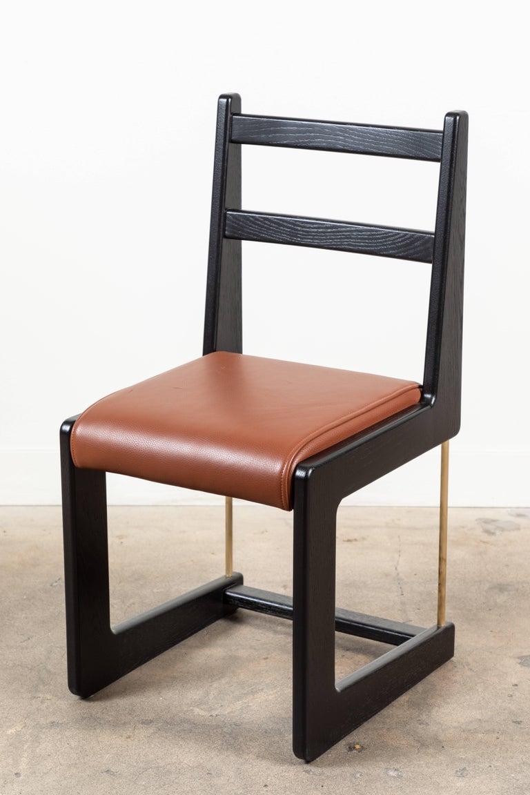 Mid-Century Modern Cruz Dining Chair by Lawson-Fenning For Sale