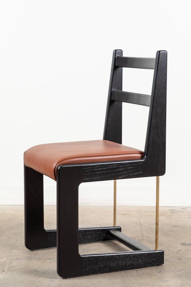 Cruz Dining Chair by Lawson-Fenning In Excellent Condition For Sale In Los Angeles, CA