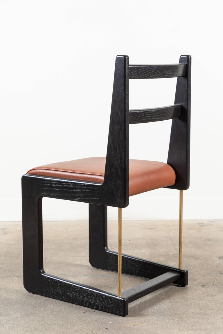 Contemporary Cruz Dining Chair by Lawson-Fenning For Sale