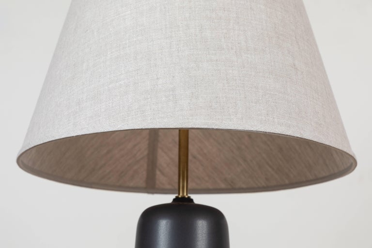 Mid-Century Modern Pair of Bryce Lamps by Stone and Sawyer for Lawson-Fenning For Sale