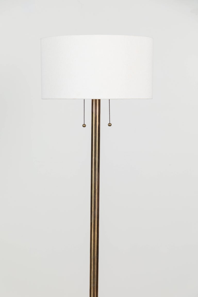 Paul Floor Lamp by Lawson-Fenning In Excellent Condition For Sale In Los Angeles, CA