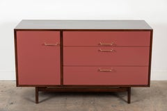 Vintage Lacquered Cabinet by Jens Risom