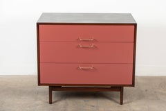 Vintage Lacquered Cabinet by Jens Risom.