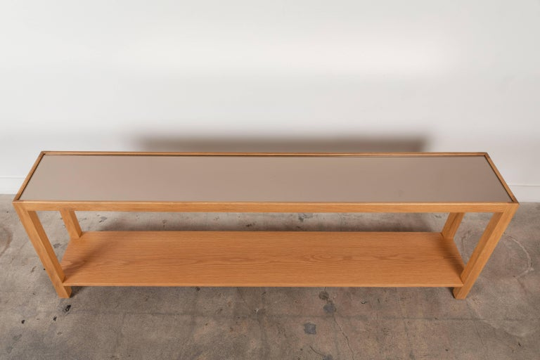 Contemporary Narrow Console by Lawson-Fenning For Sale