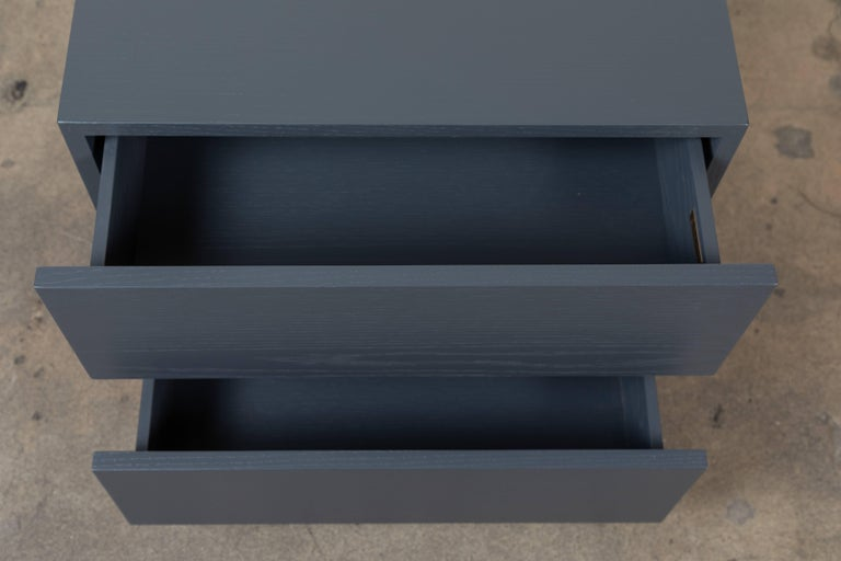 Pair of Small Stacked Box Nightstands by Lawson-Fenning For Sale 2