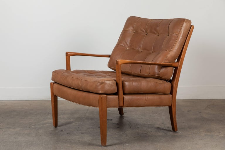 Pair ofLöven lounge chairs by Arne Norell.