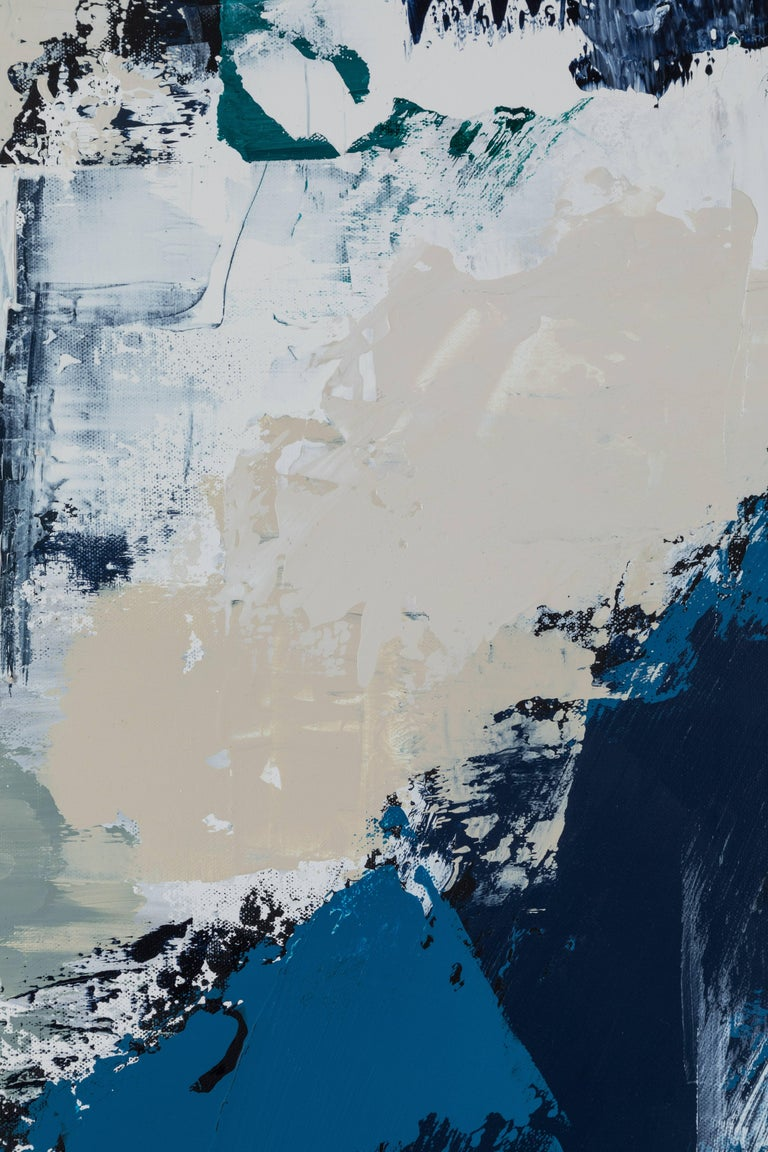 Abstract Painting on Canvas #15 by Anna Ullman for Lawson-Fenning In Excellent Condition For Sale In Los Angeles, CA