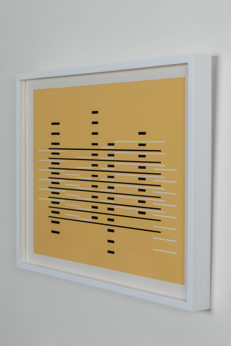 American Silkscreen Print from Formulation Articulation by Josef Albers For Sale
